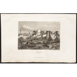 1862 - Ville perse de Ispahan