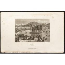 1862 - Genève en Suisse