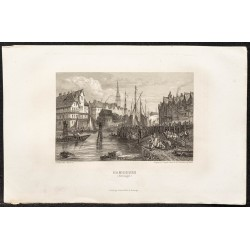 1862 - Hambourg en Allemagne
