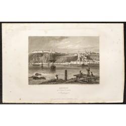 1862 - Québec sur le fleuve...