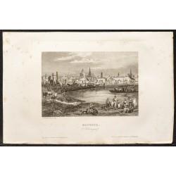 1862 - Mayence en Allemagne