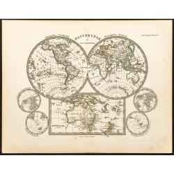 1873 - Mappemonde en deux...