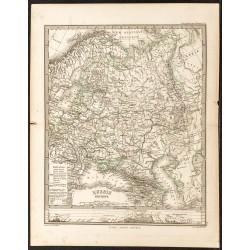 1873 - Carte de la Russie...