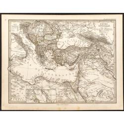1873 - Carte de l'Empire...