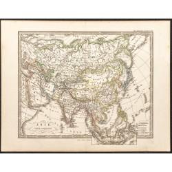 1873 - Carte politique de...