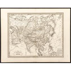1873 - Asie (Carte...