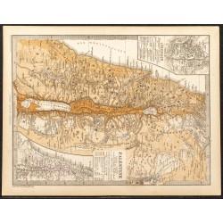1873 - Carte de la Palestine