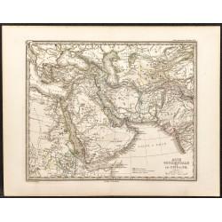 1873 - Carte du Moyen...