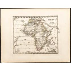 1873 - Carte de l'Afrique
