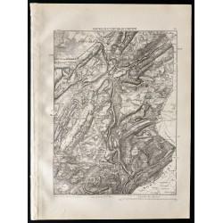 1880 - Carte de Pontarlier