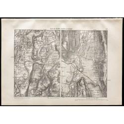 1880 - Carte du Fort de...