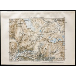 1880 - Carte du Col du...