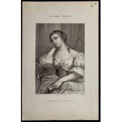 1850ca - Madame de La Fayette