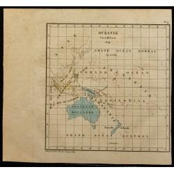 1826 - Carte de l'Océanie