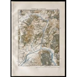 1880 - Carte du débouché de...
