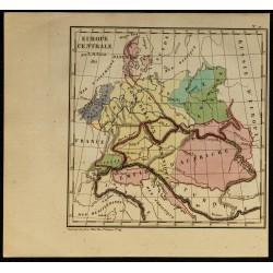 1826 - Carte de l'Europe...