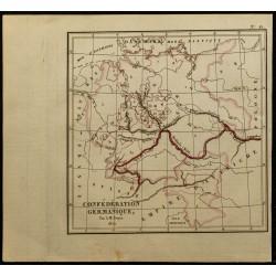 1826 - Carte de l'Allemagne