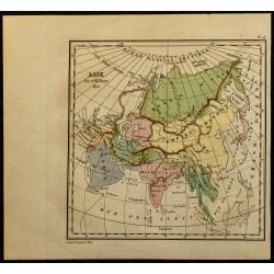 1826 - Carte de l'Asie