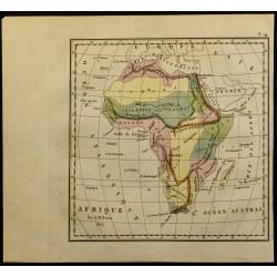 1826 - Carte de l'Afrique
