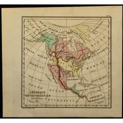 1826 - Carte de l'Amérique...