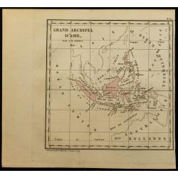 1826 - Carte de l'Archipel...