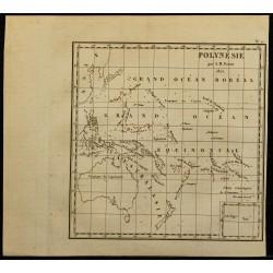 1826 - Carte de la Polynésie