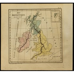 1826 - Carte des Îles...