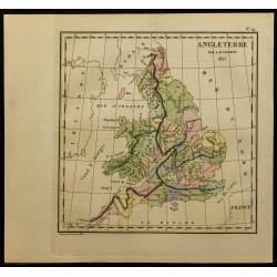 1826 - Carte de l'Angleterre