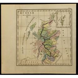 1826 - Carte de l'Écosse