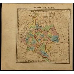 1826 - Carte de la Russie...