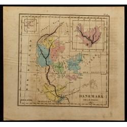 1826 - Carte du Danemark