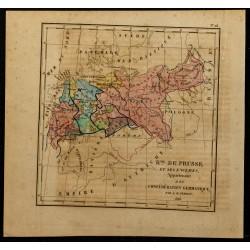 1826 - Carte de la Prusse