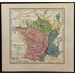 1826 - Carte de France
