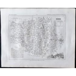 1833 - Département du Gers