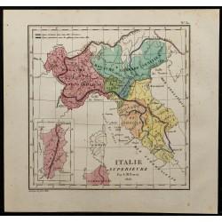 1826 - Carte de l'Italie du...