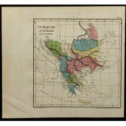 1826 - Carte de la Turquie...