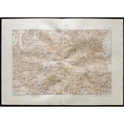 1880 - Carte de la vallée...