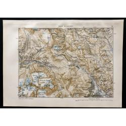 1880 - Carte de la route du...
