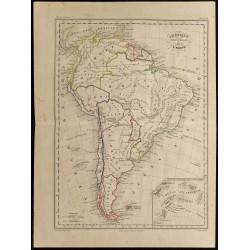 1855ca - Carte de...