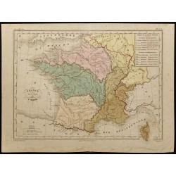 1855ca - Carte de la France...