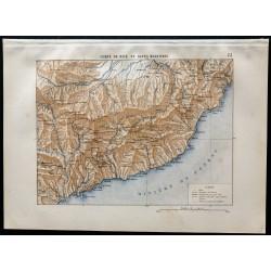 1880 - Carte du Comté de...