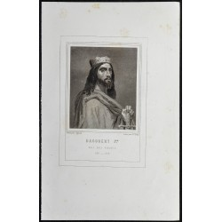 1855 - Portrait de Dagobert...