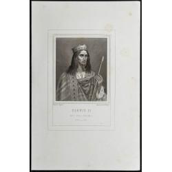 1855 - Portrait de Clovis II