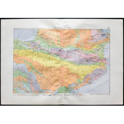1880 - Carte géologique des...