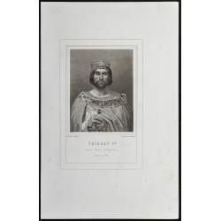 1855 - Portrait de Thierry III