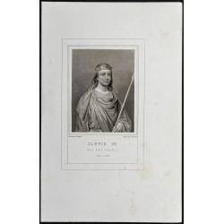 1855 - Portrait de Clovis III