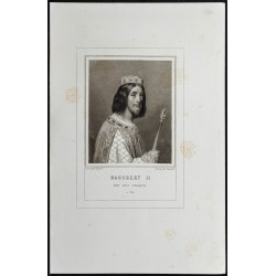 1855 - Portrait de Dagobert II