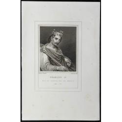 1855 - Portrait de Charles II