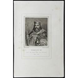 1855 - Portrait de Charles III