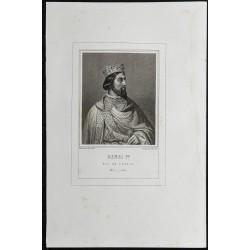 1855 - Portrait de Henri Ier